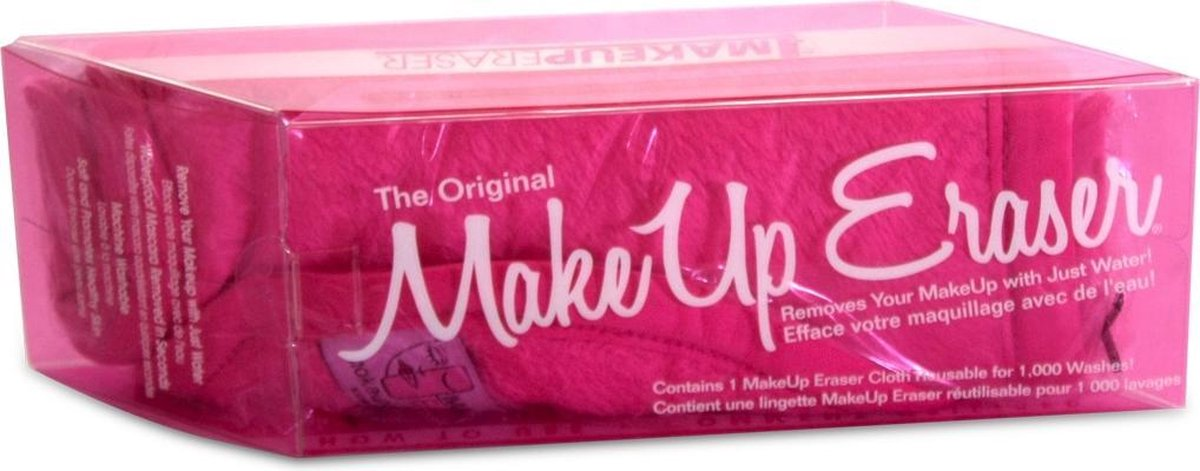 The Original MakeUp Eraser Pink - MakeUp Eraser