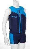 EasySwim Pro - Drijfpakje - Zwemvest & Zwembroek - Blauw - M: 17-23 kg