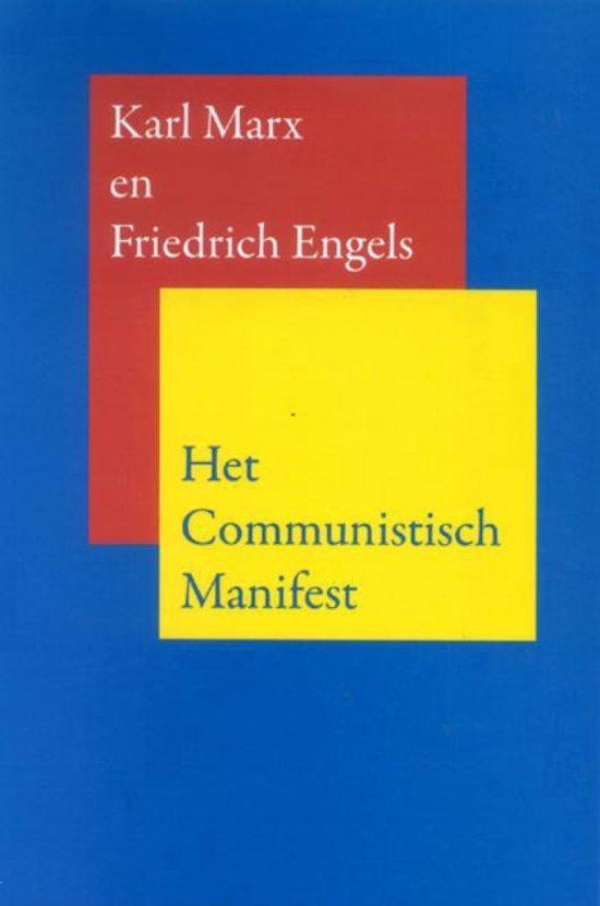 Het communistisch manifest - Karl Marx  