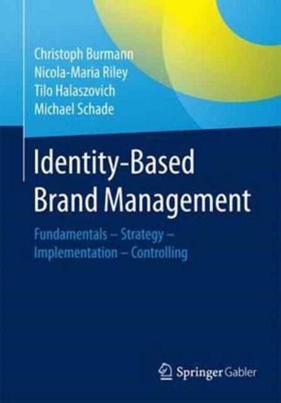 Boek cover Identity-Based Brand Management van Christoph Burmann (Paperback)