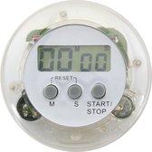 Magnetische Kookwekker met Klem - Digitale Eierwekker - Magnetische Achterkant - incl. Batterij