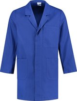 EM Workwear Stofjas 100% katoen - Korenblauw - maat M / 48-50