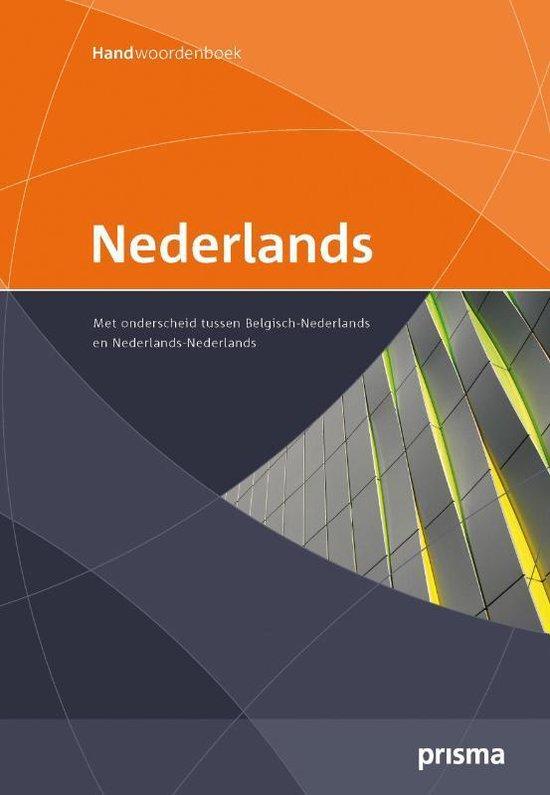 Prisma Handwoordenboek Nederlands - Prisma Redactie |