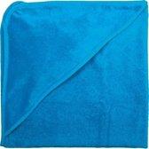 ISI MINI - Badcape - Kleur: Turquoise - Formaat: 80x80cm