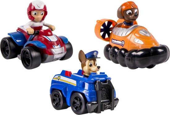Afbeelding van PAW Patrol Reddings Voertuigen Chase, Zuma en Ryder speelgoed