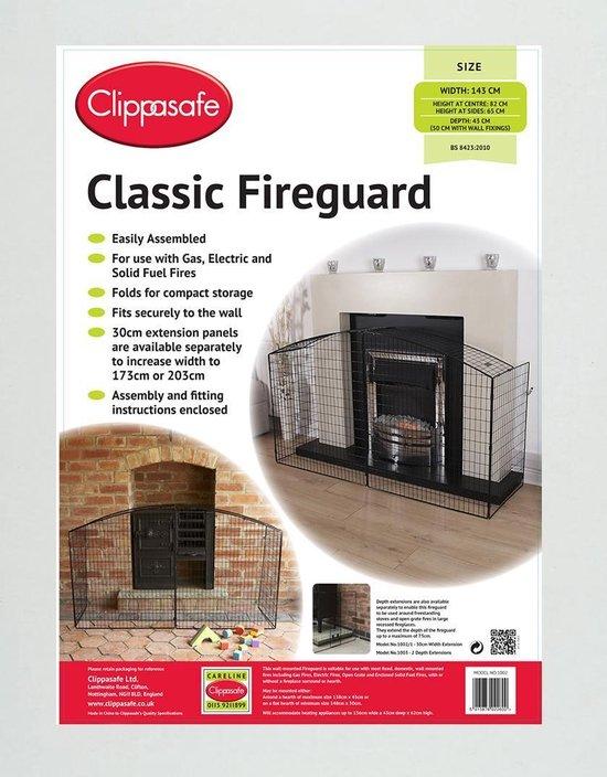 Clippasafe Classic Haardvuurhek