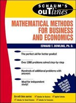 Boek cover Schaums Outline of Mathematical Methods for Business and Economics van Edward T. Dowling