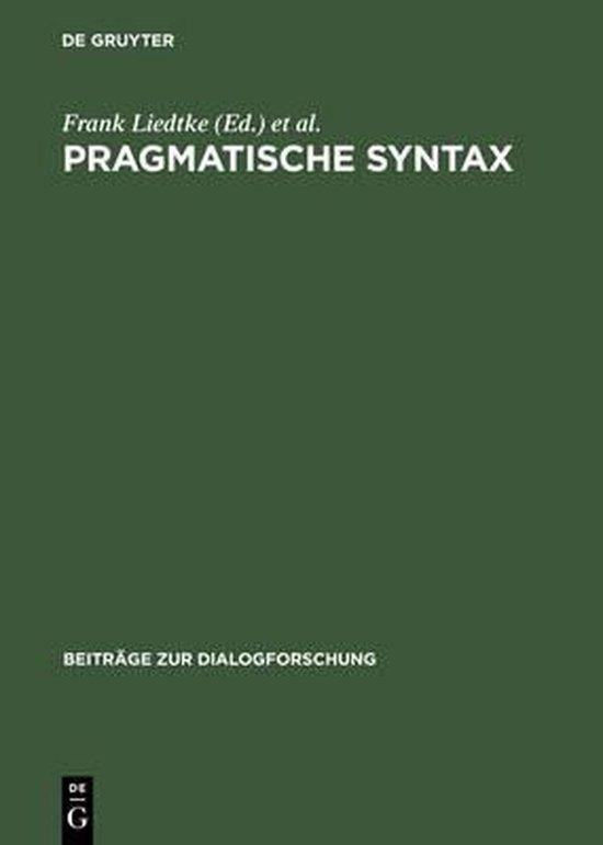Pragmatische Syntax