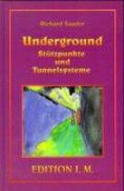Omslag Underground. Stützpunkte und Tunnelsysteme