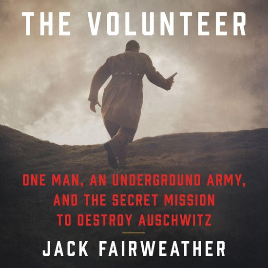 Boek cover The Volunteer van Jack Fairweather