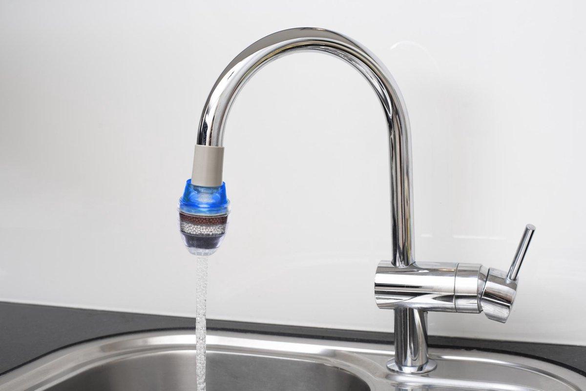Greenure waterfilter - waterzuiveraar - blauw