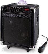 Alecto MPA-65BT Party speaker met discobol - Compact, makkelijk mee te nemen - Zwart