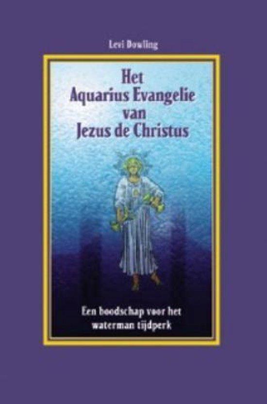 Boek cover Het Aquarius evangelie van Jezus de Christus van Primo Levi (Paperback)