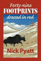 Forty-Nine Footprints Dressed in Red