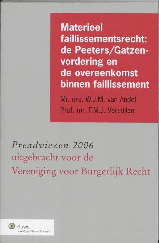 Materieel faillissementsrecht - W.J.M. van Andel |