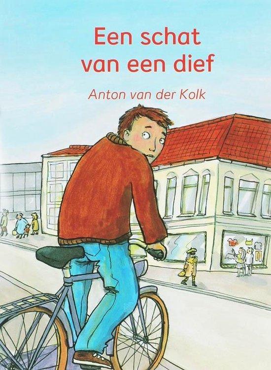 Cover van het boek 'Een schat van een dief'