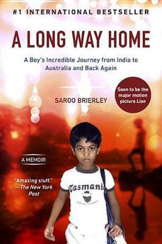 Boek cover A Long Way Home van Saroo Brierley (Paperback)