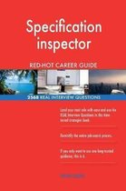 Specification Inspector Red-Hot Career Guide; 2568 Real Interview Questions