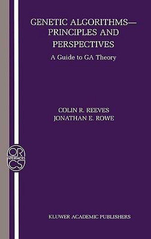 Boek cover Genetic Algorithms van Colin R. Reeves (Hardcover)