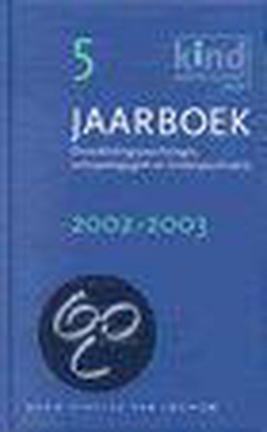 JAARBOEK 5 2002-2003 - Joke Bosch |