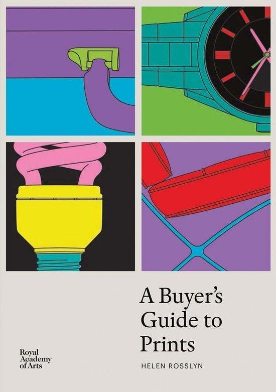 Boek cover A Buyers Guide to Prints van Helen Rosslyn (Paperback)