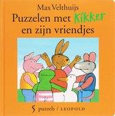 Boek cover Kikker - Puzzelen Met Kikker En Zijn Vriendjes van Max Velthuijs