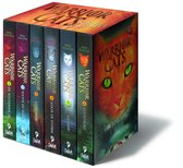 Warrior Cats pakket serie I - 6 delen in paperback