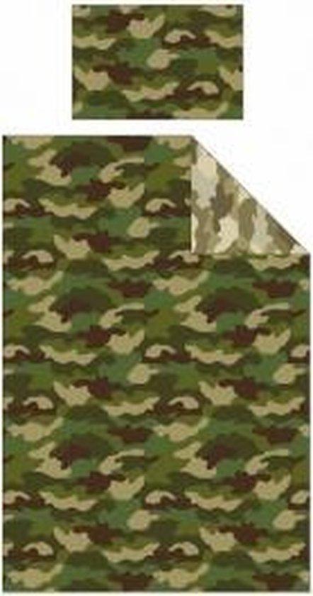 Dekbedovertrek Camouflage Eenpersoons