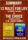 Omslag Summary of 12 Rules for Life: An Antidote to Chaos by a Jordan B. Peterson + Summary of The Choice by Nicholas Sparks 2-in-1 Boxset Bundle