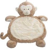 Snuggle Up Speelkleed Baby - Speelmat - Boxkleed Rond - 79 x 58 cm - Kraamcadeau Jongen/Meisje - Babyshower Cadeau - Aap