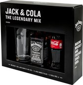 Jack Daniel's Old No. 7 Tennessee Whiskeypakket - 35 cl - met Glas en 20 cl Cola