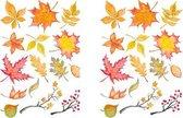 Set van 2 stickervellen Autumn Leafs | Stickers