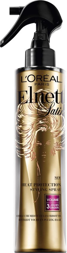 L'Oréal Paris Elnett Satin Heat Protection Haarspray - 170 ml - Volume