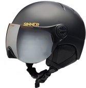 Sinner Crystal Skihelm - Unisex - Maat XL - Zwart