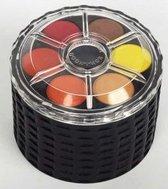 Waterverf in stapelbare carrousel, 48 kleuren