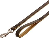 Leash buffalo orient. 100cm 22mm dark brown/nature