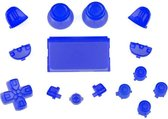 PS4 controller button replacement set blauw
