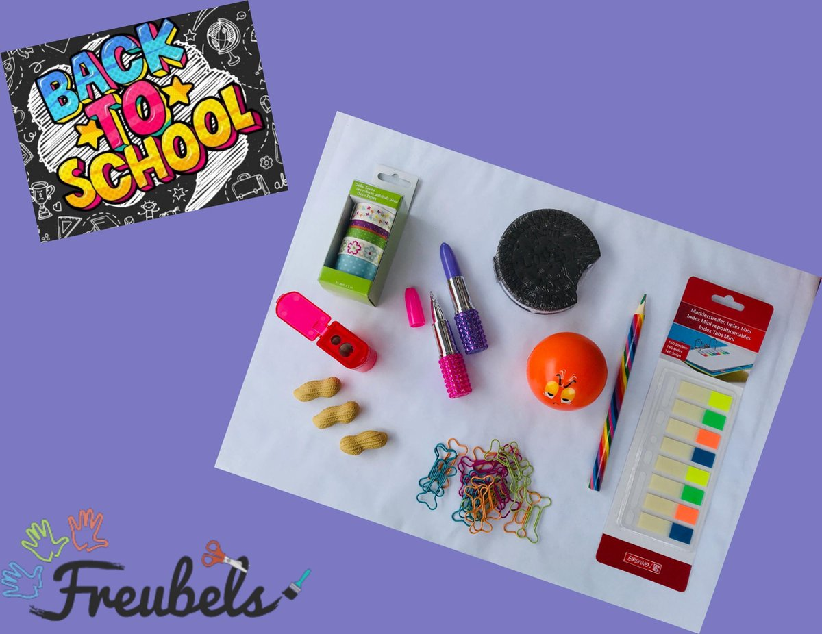 Survivalbox Back to school meisjes