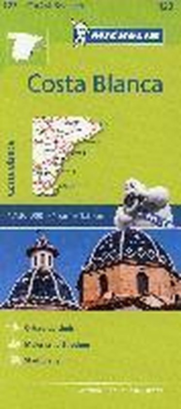 Michelin Zoomkarte Costa Blanca 1 : 130 000