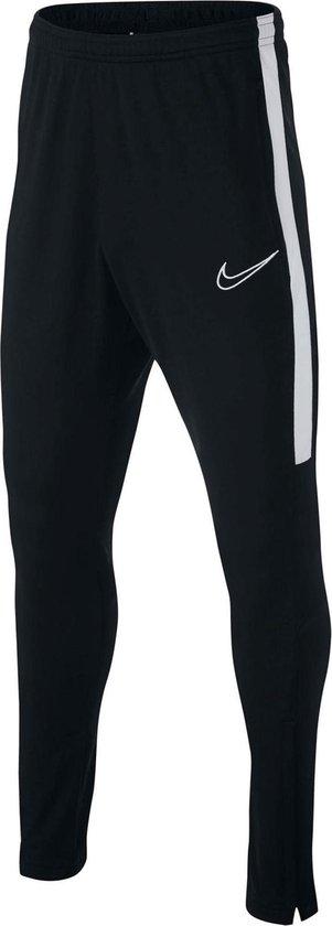 Nike y Academy Trainingsbroek Boys Sportbroek - Maat S  - Unisex - zwart/wit Maat 128/140