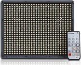 Aputure LED HR-672C Bi-Color Groothoek + Afstandsbediening