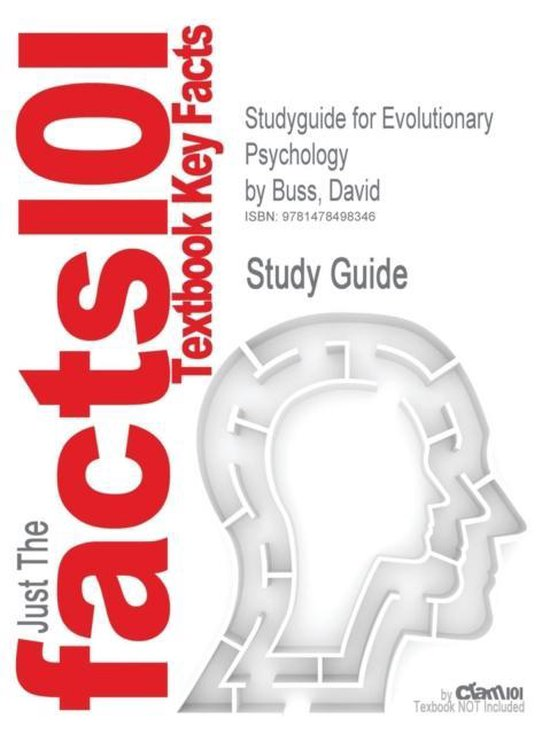 Studyguide for Evolutionary Psychology by Buss, David