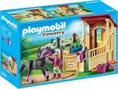 PLAYMOBIL Country Arabier met paardenbox  - 6934