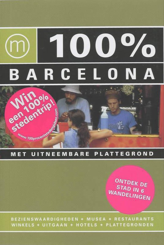 Cover van het boek '100% Barcelona' van C. Kerstens