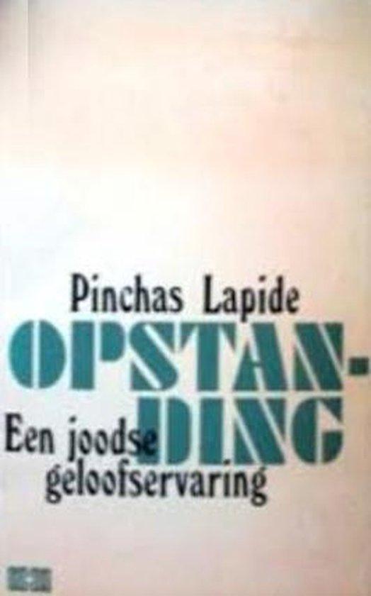 OPSTANDING - Pinchas Lapide |