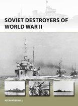 Boek cover Soviet Destroyers of World War II van Dr Alexander Hill