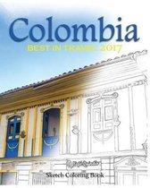 Colombia Sketh Coloring Book
