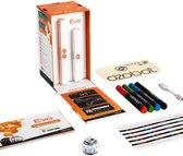 Ozobot Evo Crystal White - Educatieve Smart Robot - Starter Pack