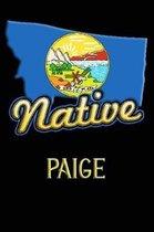 Montana Native Paige