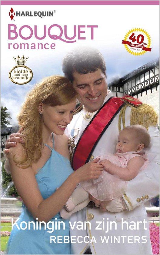 Koningin van zijn hart - Bouquet Romance 372B - Rebecca Winters |